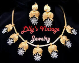 Lilly s Vintage Jewelry - Warning ~ Vintage Costume Jewelry can become  addicting! Specializing in vintage wearable and collectible costume jewelry  for all ... e3751b50d9f0c