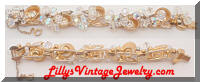 DeLizza and Elster JULIANA AB Crystals Rhinestones ChaCha Bracelet
