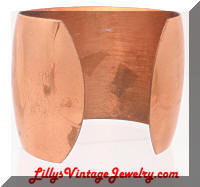 Vintage Large Copper Cuff Bracelet