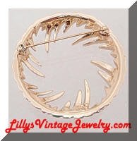 SARAH COVENTRY Fire & Ice Vintage Brooch