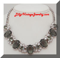 Juliana D&E 5 Link Black Diamond RS Necklace