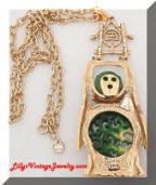 HMS Maderia Creations Asian Buddha Pendant Necklace