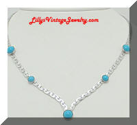 Sarah Coventry Summer Sky necklace
