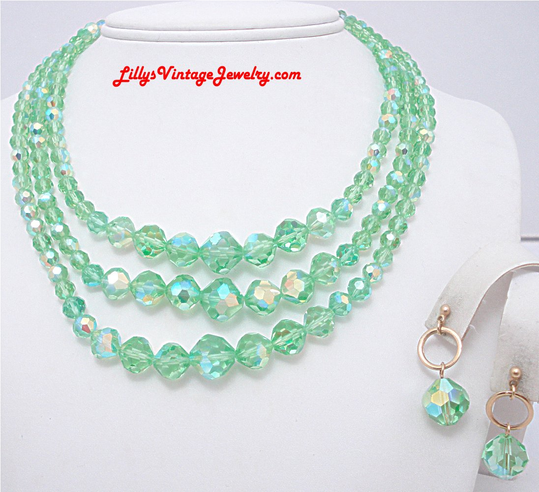 Vintage Jewelry Crystals :  necklace jewelry jewellery vintage jewelry